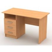 Стол письменный с 3 ящиками и нишей
